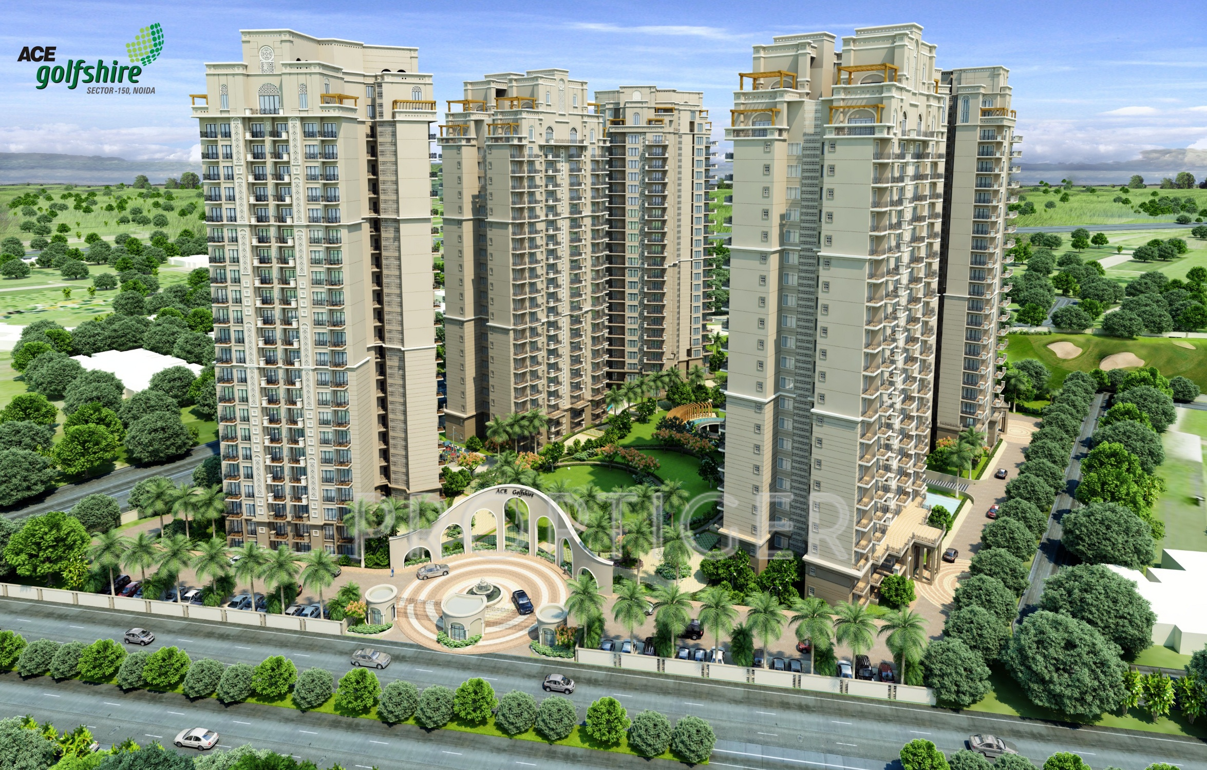 ACE GOLFSHIRE OFFERED 3BHK BHK LUXURY APARTMENTS AT SECTOR 150, NOIDA