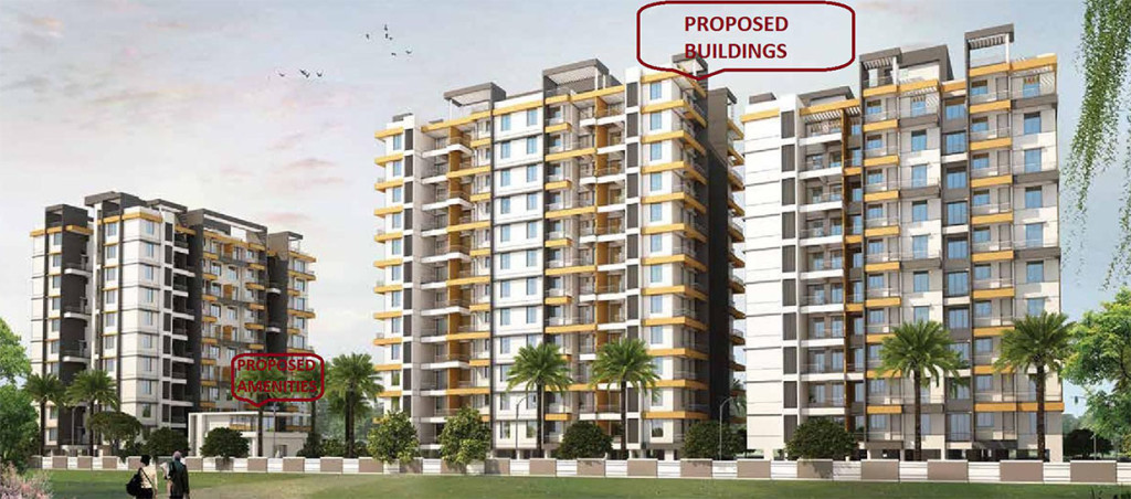 BLOOM RESIDENCY CHARHOLI KURD PUNE BY BLOOM INFRASTRUCTURE OFFERED 1,2BHK APARTMENTS