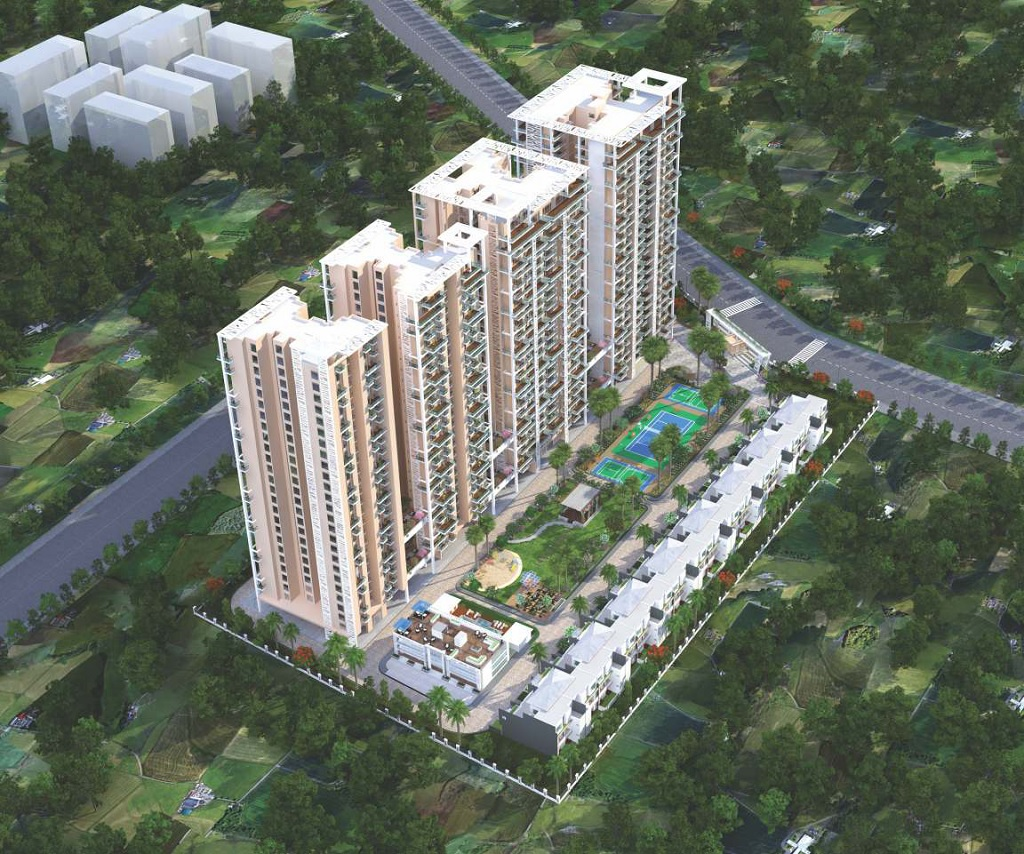 SIKKA KIMAANTRA GREENS 3,4 BHK LUXURY APARTMENTS AT SECTOR 79 NOIDA