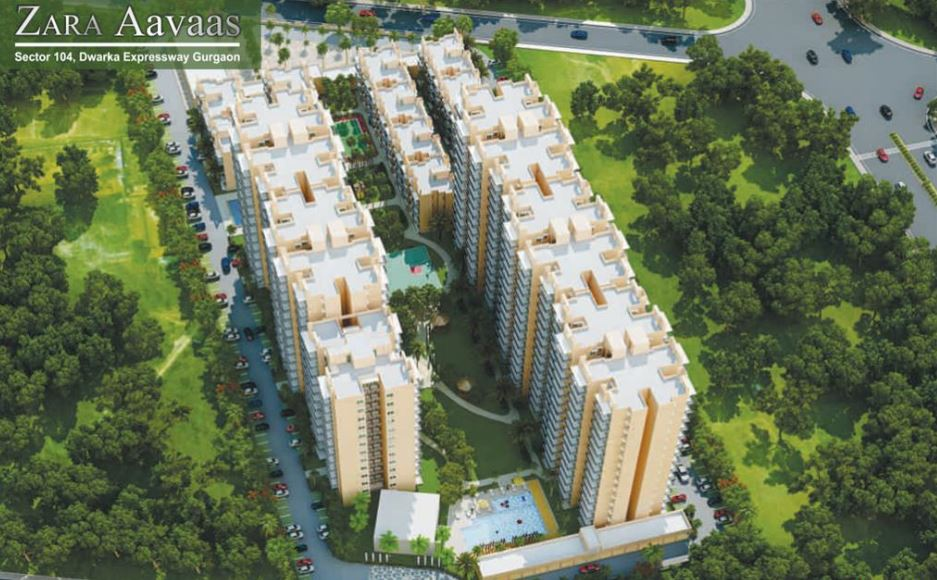 ZARA AAVAAS OFFERED 1,2,3BHK APARTMENTS SECTOR 104 GURGAON